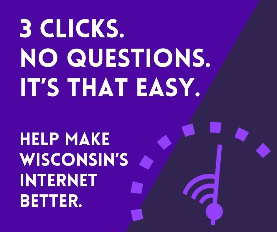 3 clicks. No questions. It's that simple.